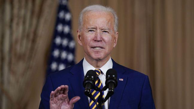 美國總統拜登向國會提出的第二輪紓困計畫規模龐大,遭到參議院共和黨團的阻擋。美聯社