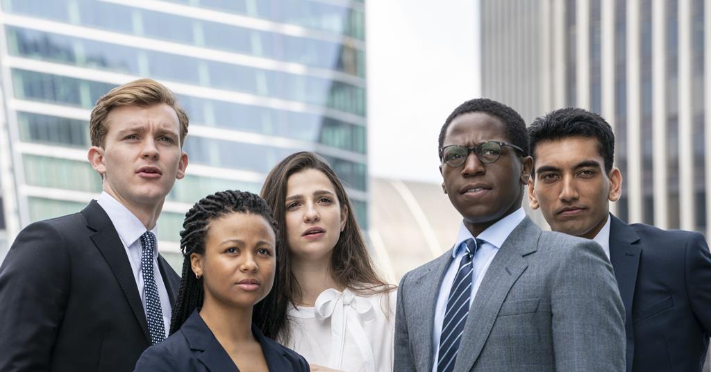 「金融業實錄」幾位年輕主角都有大膽裸露或是煽情的鏡頭。圖/摘自broadcast...