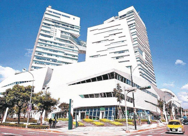 南港中信金融園區大樓。 本報系資料庫