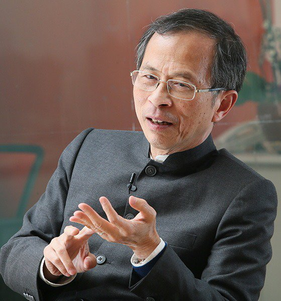 香港立法會前主席曾鈺成。 聯合報系資料照片/記者潘俊宏攝影