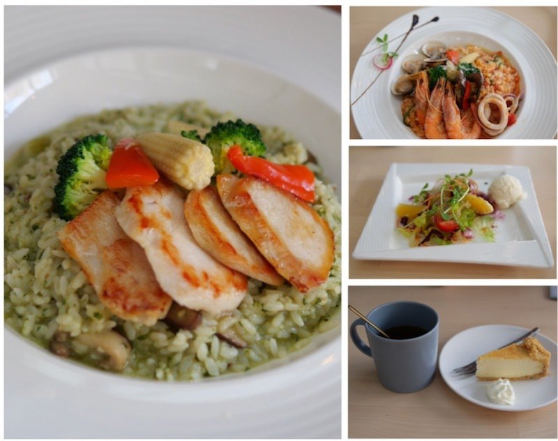 私客創旅Mr.Bulb餐廳供應的創意料理餐點。