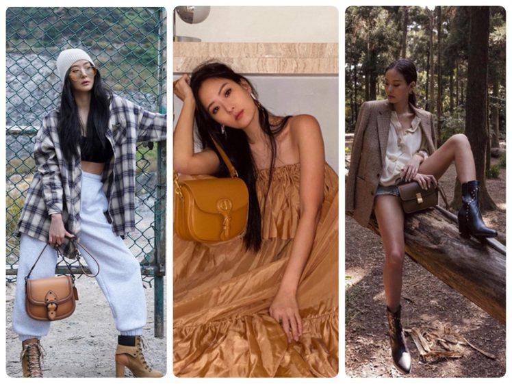 孫芸芸的拍照姿態既霸氣又性感,也保留她個人的酷帥風格圖/取自IG