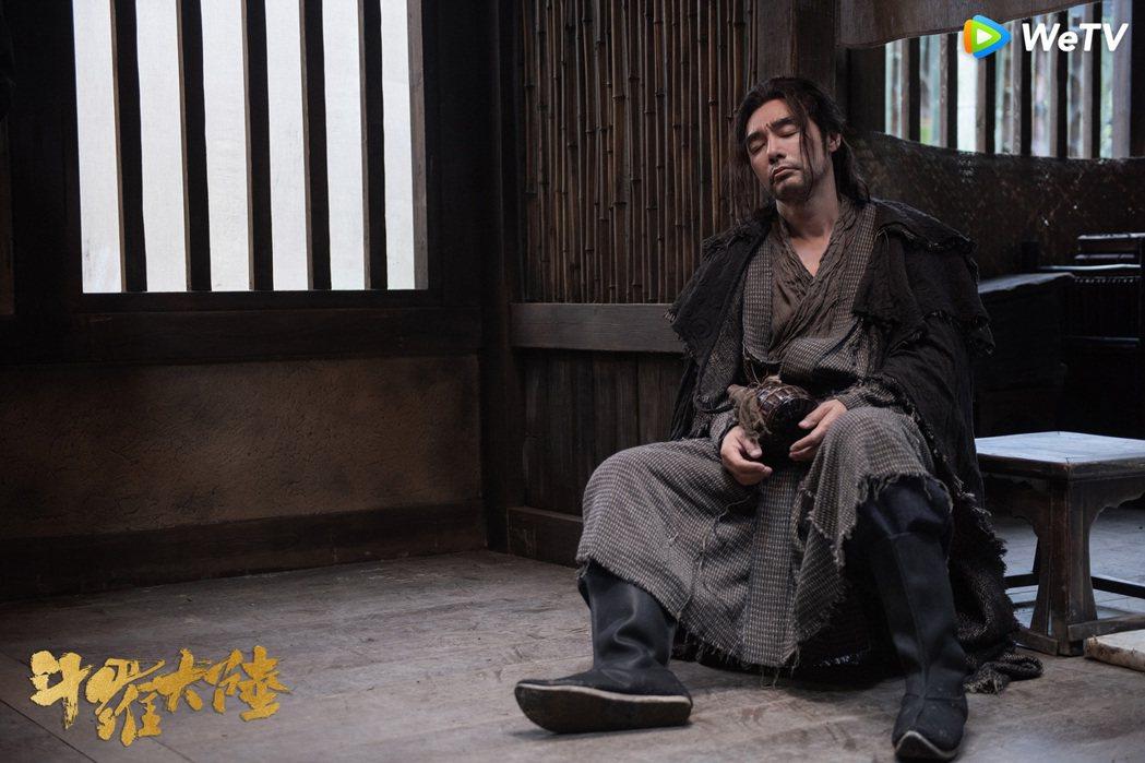 鍾鎮濤客串演出「斗羅大陸」。圖/WeTV海外站