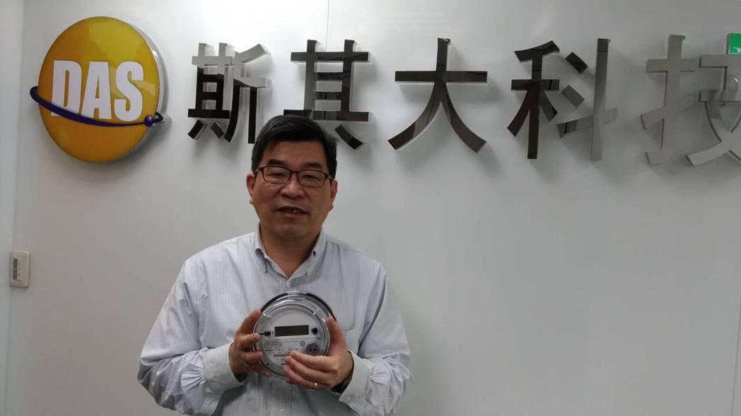 斯其大總經理吳端煇表示,版圖拓展至多項IOT市場,包括智慧電表、智慧水表、家庭自...