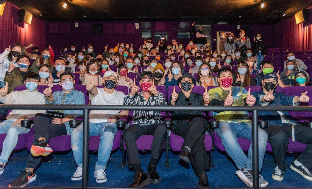 「角頭-浪流連」3天票房破2400萬。圖/巧克麗娛樂提供