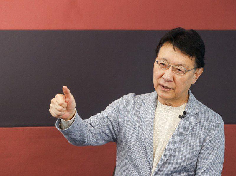 中廣董事長趙少康重返國民黨之後表示,他將爭取代表國民黨參選2024年總統大選。記者鄭超文/攝影
