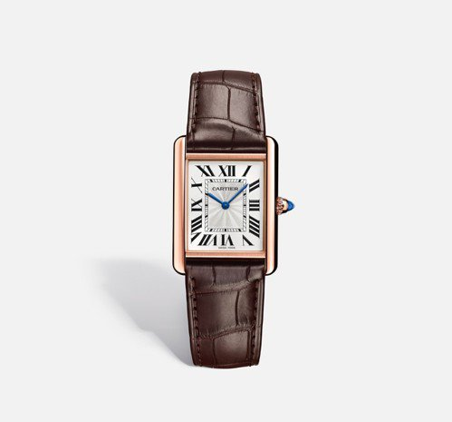 Tank腕錶,大型款 參考價格約NT$ 379,000 圖/卡地亞 提供