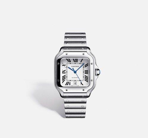 Santos de Cartier腕錶,大型款 參考價格約NT$ 210,000...