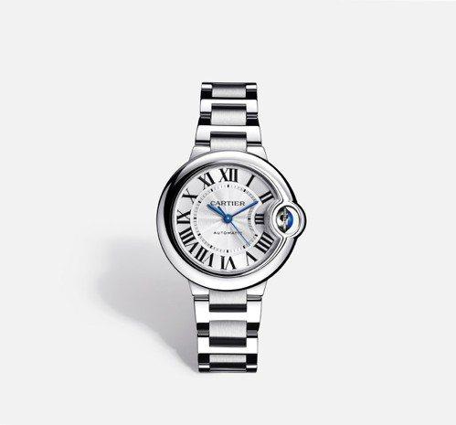 Ballon Bleu 腕錶,33mm參考價格約NT$ 170,000 圖/卡地...