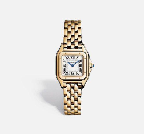Panthère de Cartier美洲豹腕錶,小型款 參考價格約NT$ 61...