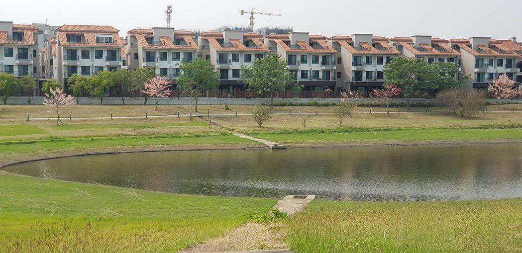 南科知名建案蕾夢湖。 圖/21世紀不動產 提供