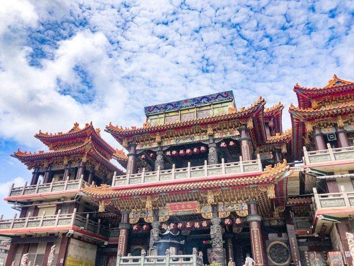 屏東車城福安宮為全台與東南亞最大的土地公廟。 圖/IG@chichislife_