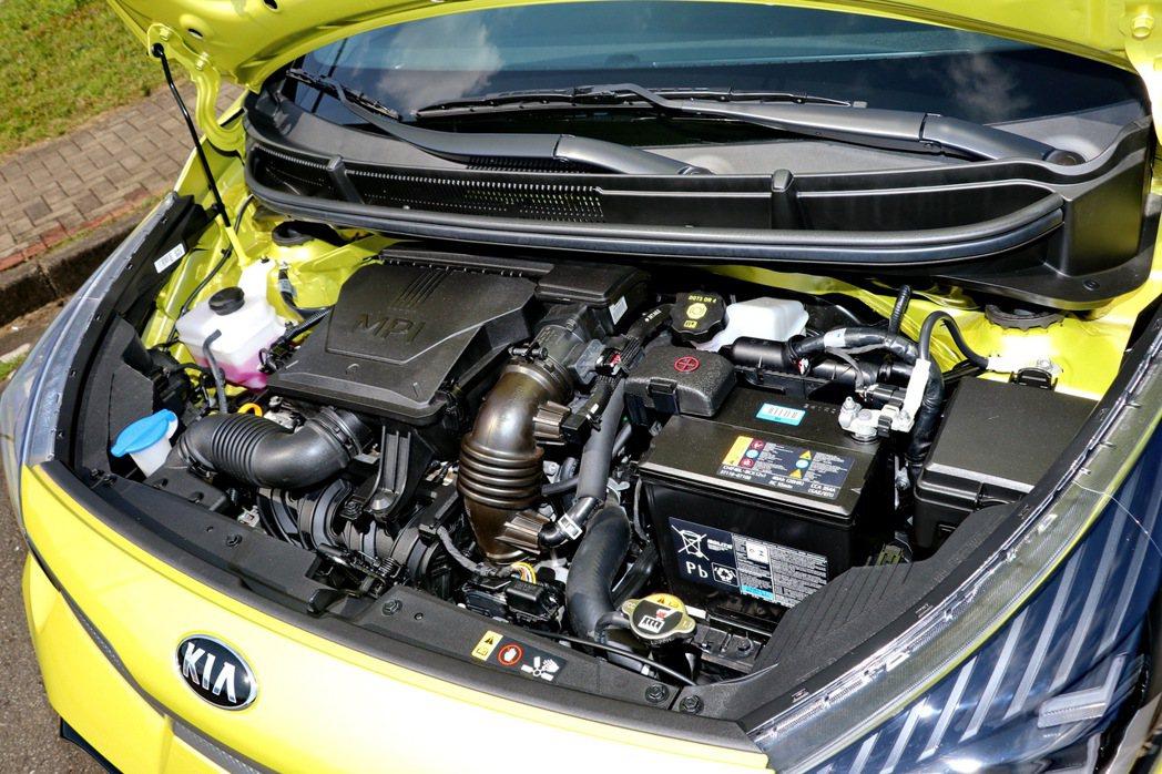 All-new Picanto搭載全新1.2 MPI引擎,擁有84 ps的最大馬...