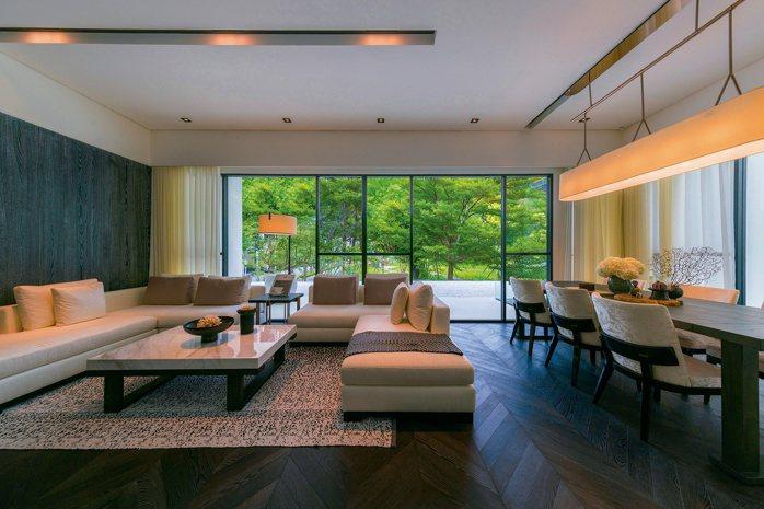敦南琴朗3樓窗景視野,收藏校園微森林風光。