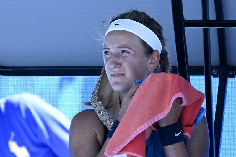 白俄羅斯前「世界球后」雅莎蘭卡(Victoria Azarenka)澳網首輪就爆冷落馬,名列12種子的兩屆前冠軍直言都是隔離害的! 路透社