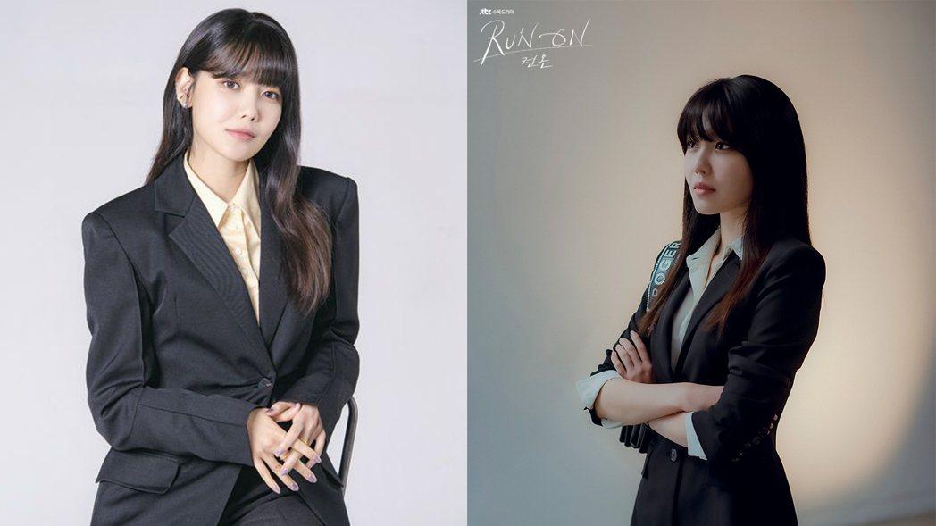 崔秀英在「Run On」中演出體育經紀公司代表「徐丹雅」。圖/擷自osen、JT