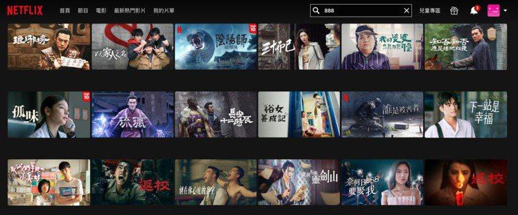 Netflix今年再度推出「888華語新春片單」,獨家上架多部2020年華語票房...