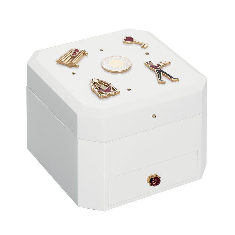 卡地亞Diabolo de Cartier音樂盒,約98,000元。圖/卡地亞提...
