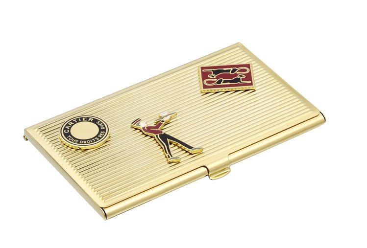 卡地亞Diabolo de Cartier卡片夾,約21,900元。圖/卡地亞提...