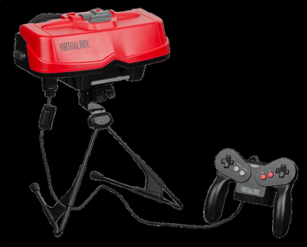 現實中,二十世紀九O年代的VR裝置,只是任天堂不堪回首的黑歷史