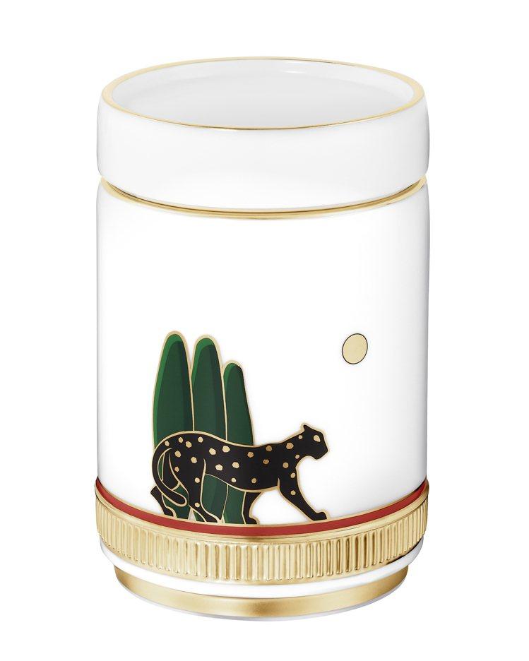 卡地亞Panthère de Cartier美洲豹茶葉罐,約33,400元。圖...
