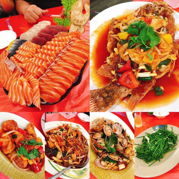 除夕團圓飯菜色都很澎湃,大多是高脂食物,吃多了容易發胖。圖/劉伯恩提供