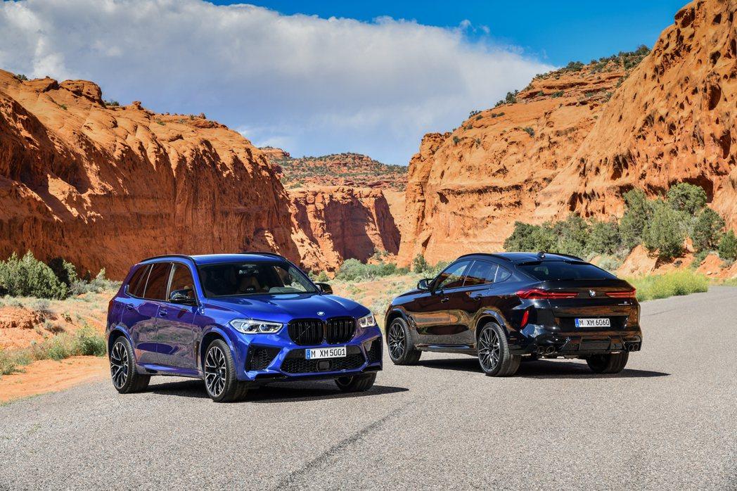 熱賣中的新世代BMW X5 M、X6 M成為BMW M GmbH年銷量再升高的主...