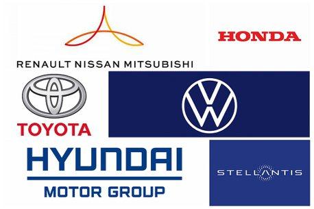 2020年汽車集團全球銷售洗牌!Toyota睽違5年重返寶座