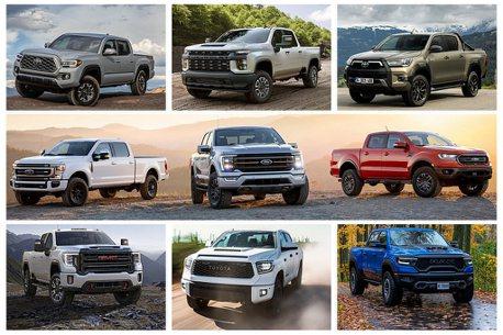 Ford F-Series、Toyota Hilux各據一方!全球皮卡銷售排行榜出爐
