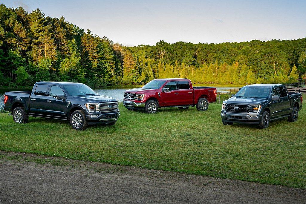 2020年Ford F-Series車系雖然總銷售只有968,179輛,但還是穩...