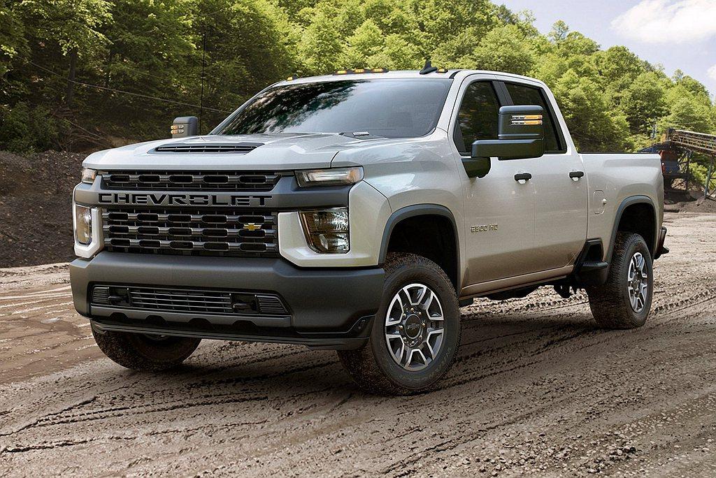 Chevrolet Silverado則以637,750輛銷售表現,排行第二名。...