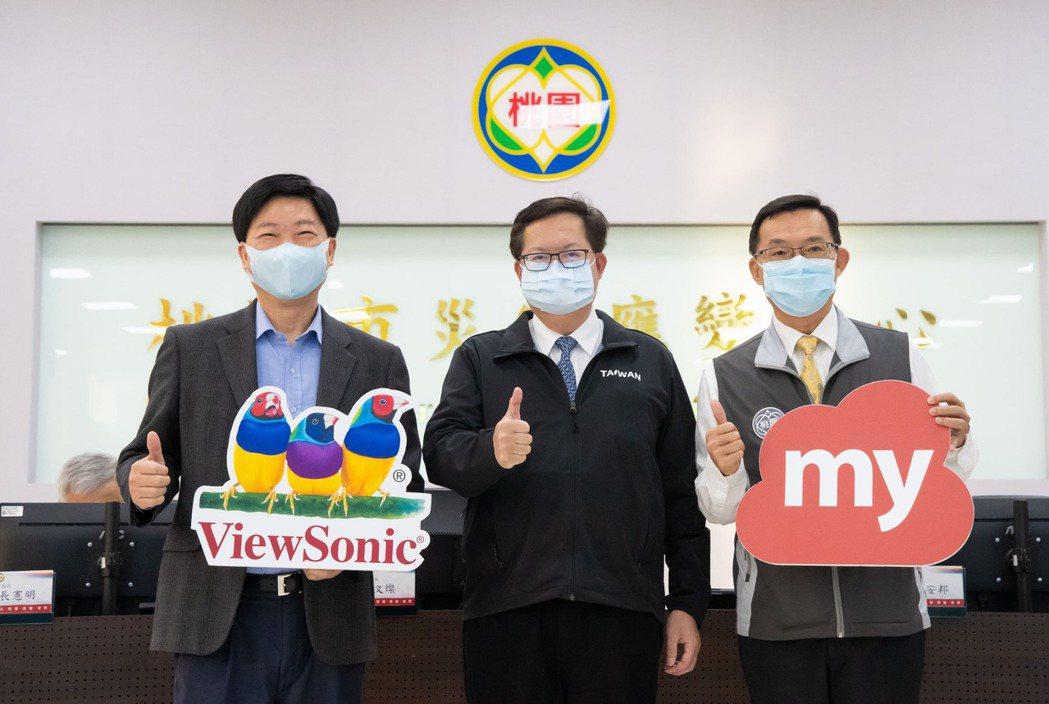 ViewSonic宣布免費提供桃園市學校註冊使用myViewBoard數位教育平...