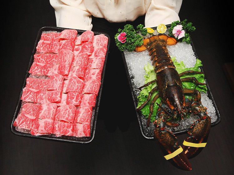為慶祝2週年,鍋&Bar消費滿額就贈「波士頓龍蝦」1隻或是「RSF極黑和...