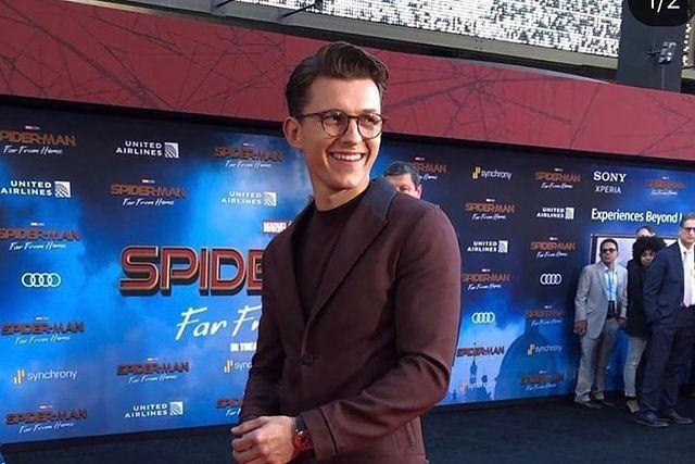 湯姆霍蘭德主演「蜘蛛人」系列影片,受到觀眾歡迎。圖/摘自Instagram