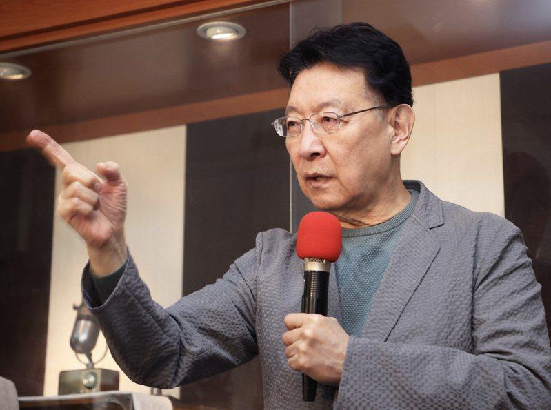 中廣董事長趙少康重返國民黨,有意代表參選下屆總統。圖/本報資料照片