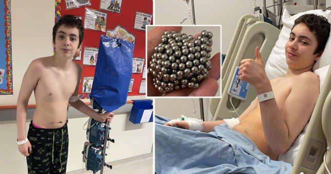 英國一名男孩為了「身體力行」,竟將數十顆磁力球吞下,所幸隨即送醫進行長達六小時的...
