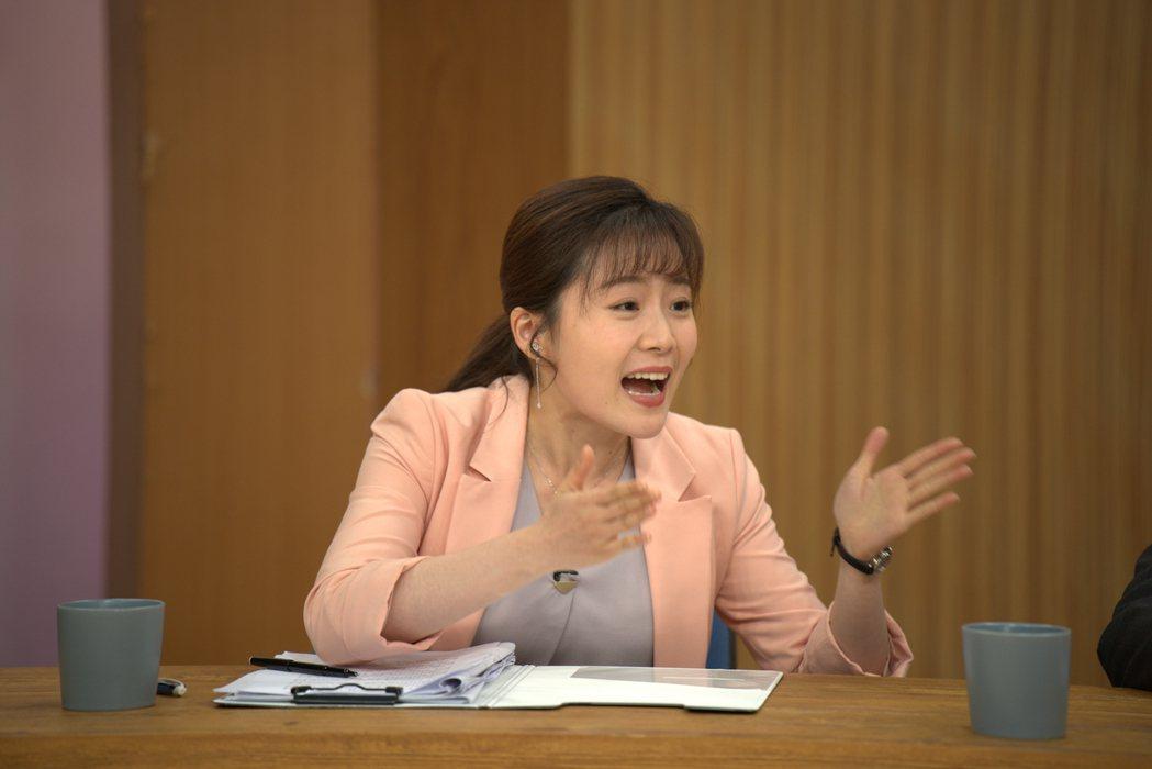 楊小黎一上戲就變「小辣椒」。圖/國際橋牌社提供