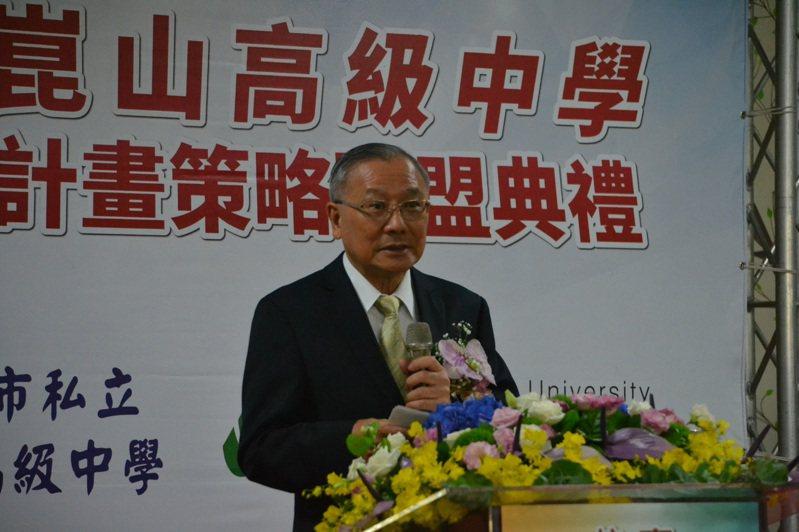 台南市政府小內閣改組,崑山高中校長戴謙將出任台南副市長。記者鄭惠仁/攝影
