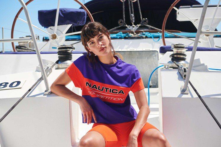 Nautica春夏的Competition系列首次引進了女款。圖/Nautica...