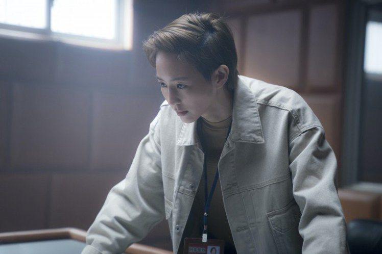 張鈞甯因為新電影《緝魂》而剪了短髮。圖/威視提供 吳曉涵