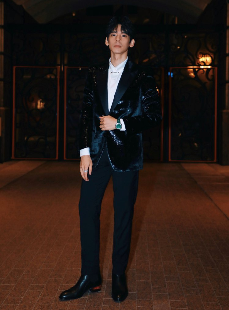 林柏宏出席第57屆金馬獎入圍酒會。圖/Giuseppe Zanotti提供 吳曉...