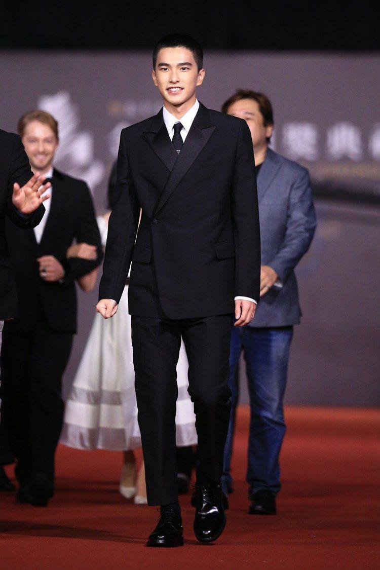 曾敬驊穿Dior服飾出席金馬獎。圖/聯合報資料照 吳曉涵