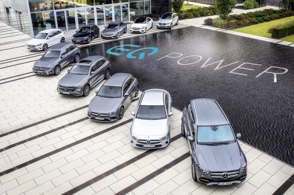 Mercedes-Benz與smart去年共約交付超過16萬台的電動車型 (Pl...