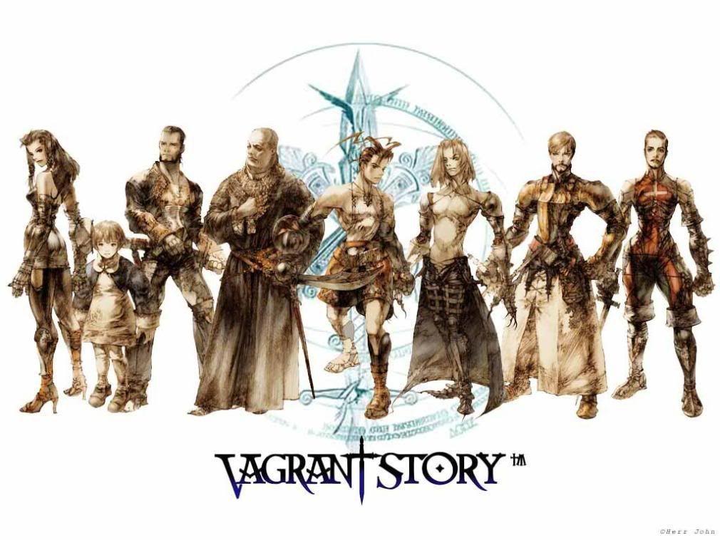 本作的人物設定和外型,很有《皇家騎士團》和《Final Fantasy戰略版》的...