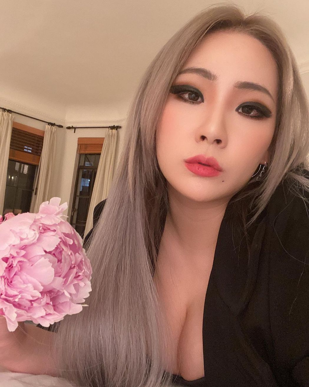 CL。圖/擷自IG