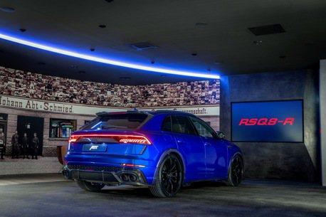 全球限量125台! ABT加持的Audi RSQ8-R擁有驚人的730匹馬力!