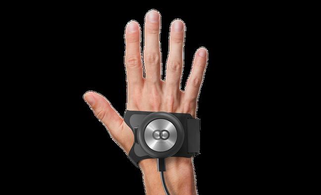 GyroGlove™是世界上首款為顫抖症患者量身訂製的可穿戴式醫療設備,利用陀螺...