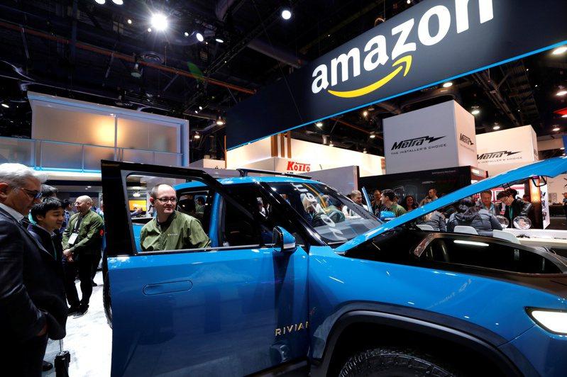亞馬遜注資的電動車公司Rivian尋求今年IPO。(路透)
