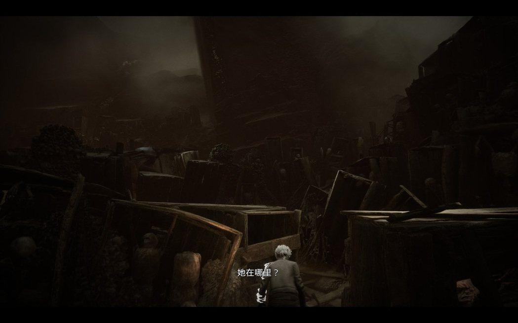 被怪物追逐時是整個遊戲中最緊張的時刻