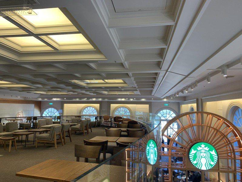 星巴克奇美博物館門市明開幕,在地方成話題。圖/業者提供